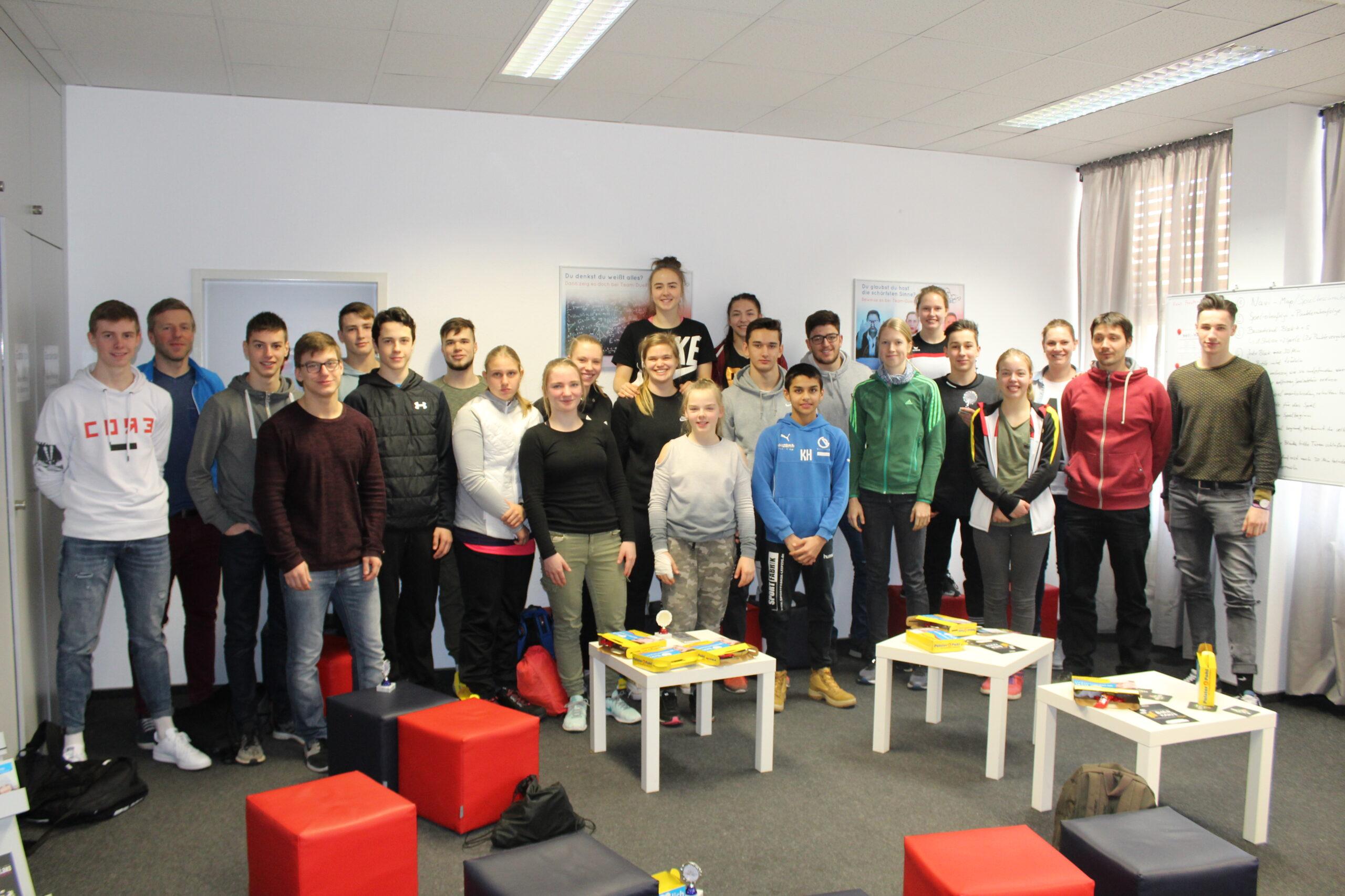 Bild von einer Klassenfahrt in Leipzig