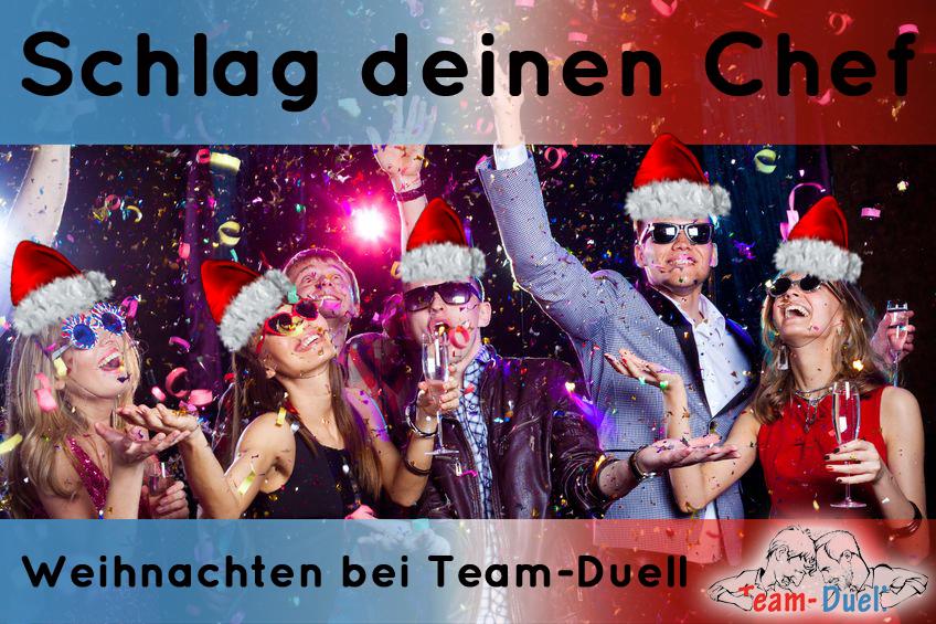Weihnachtsfeier 2019 Ideen.Weihnachtsfeier In Leipzig Team Duell Ist Die Idee Für Dieses Jahr