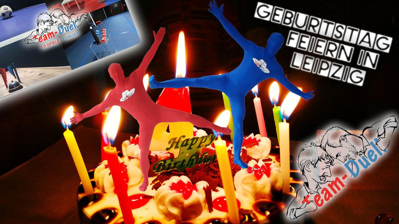 Geburtstag feiern Leipzig