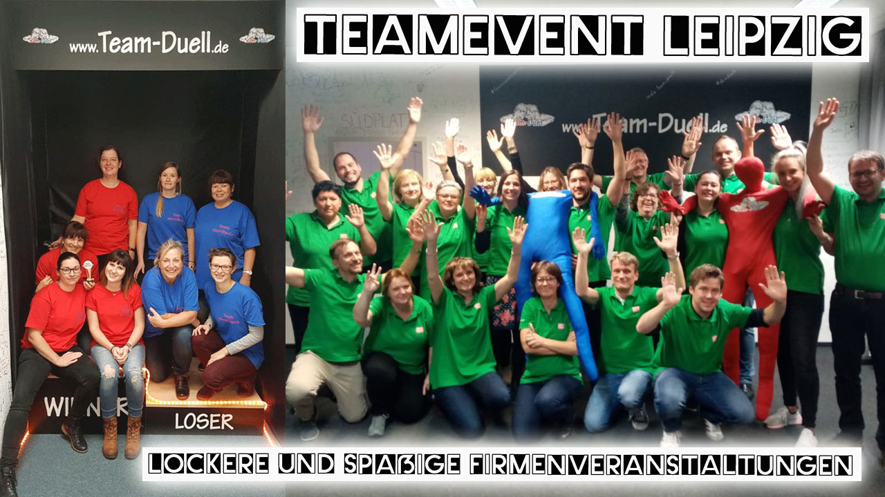 Teamevent Leipzig